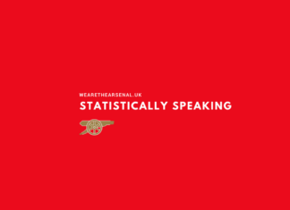 Statistically Speaking Arsenal