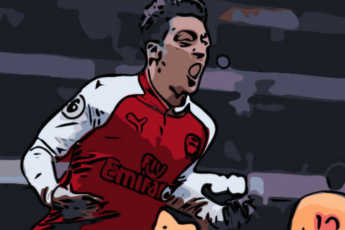 Mesut Ozil Arsenal Tactical Analysis Statistics