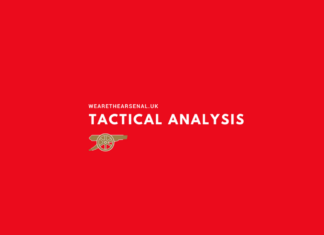 Arsenal, Tottenham, Tactical Analysis, Statistics