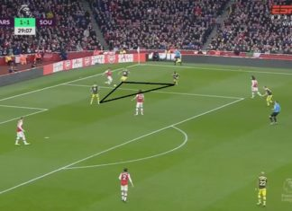 Premier League 2019/20: Arsenal vs Southampton – tactical analysis tactics